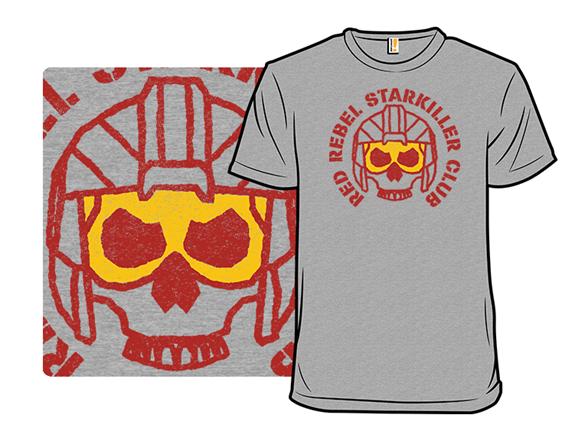 Red Rebel Starkiller Club T Shirt