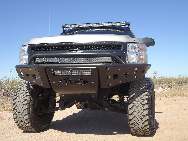 Addictive Desert Design Stealth Front Bumper Chevrolet Silverado 1500 07-13