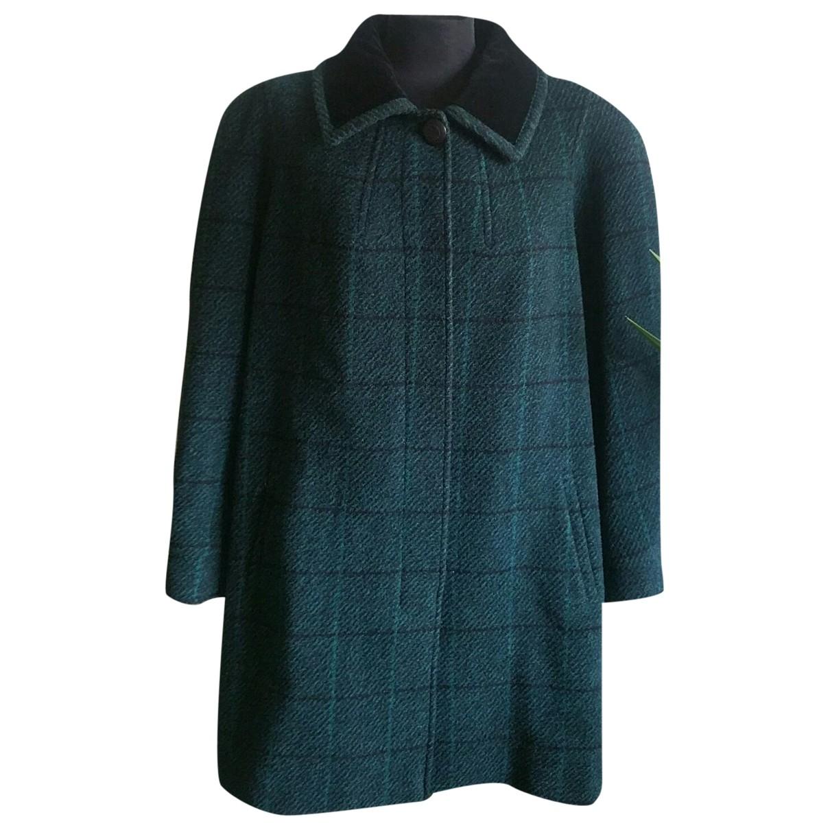Elena Miro \N Multicolour Wool coat for Women 46 IT
