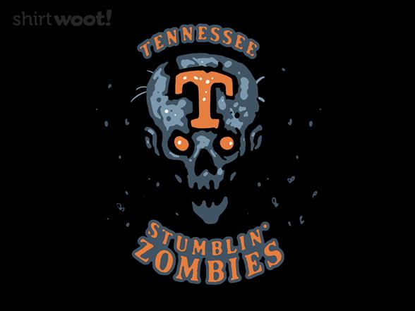 Tennessee Stumblin' Zombies T Shirt