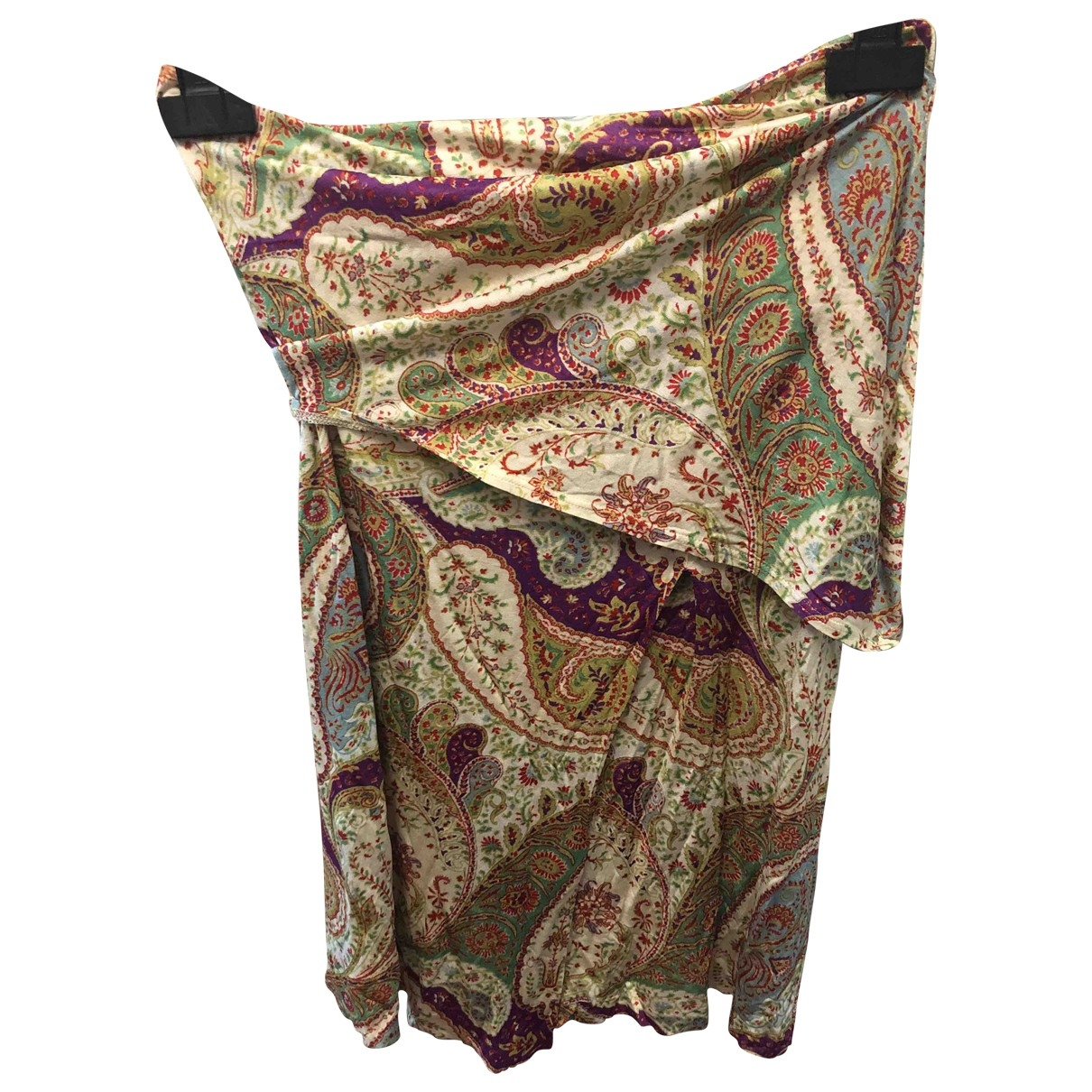 Etro \N Multicolour Silk skirt for Women 42 IT