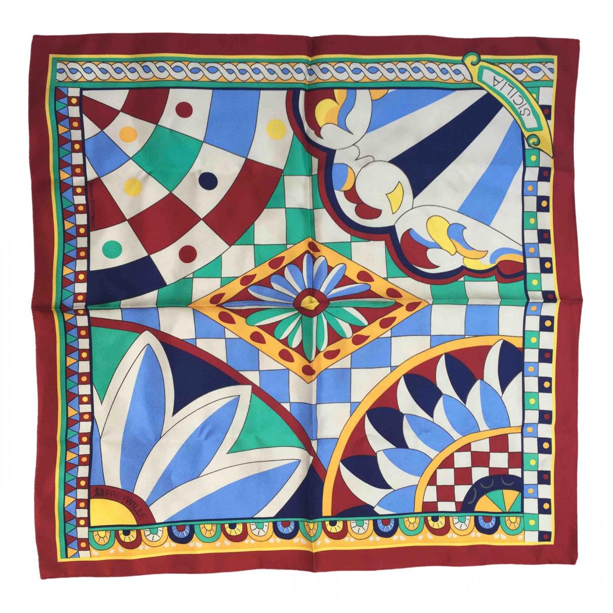 Frey Wille \N Multicolour Silk Silk handkerchief for Women \N
