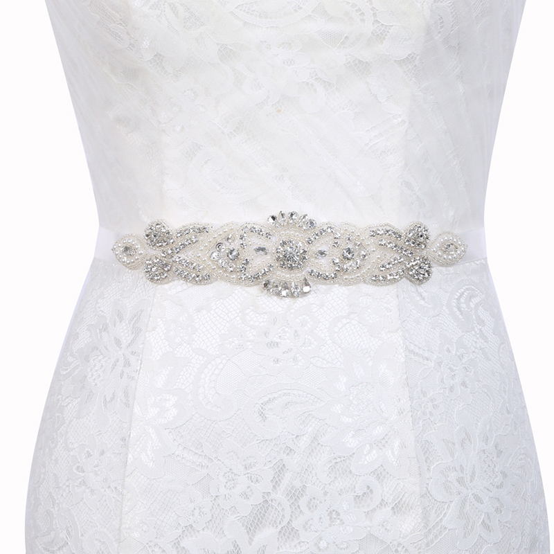 Ericdress Regular(2-4cm) Polyester Mosaic Bridal Belts