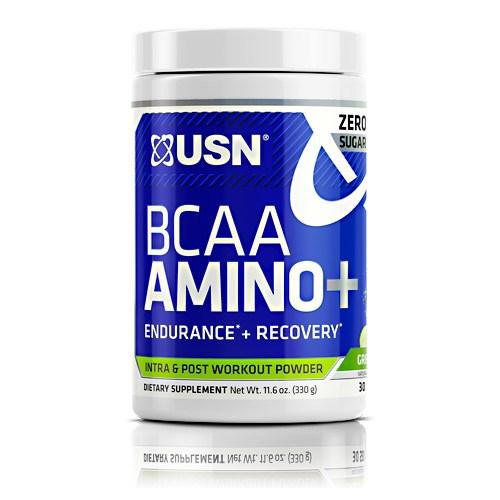 Bcaa Aminos Plus Green Apple 30 Servings by USN