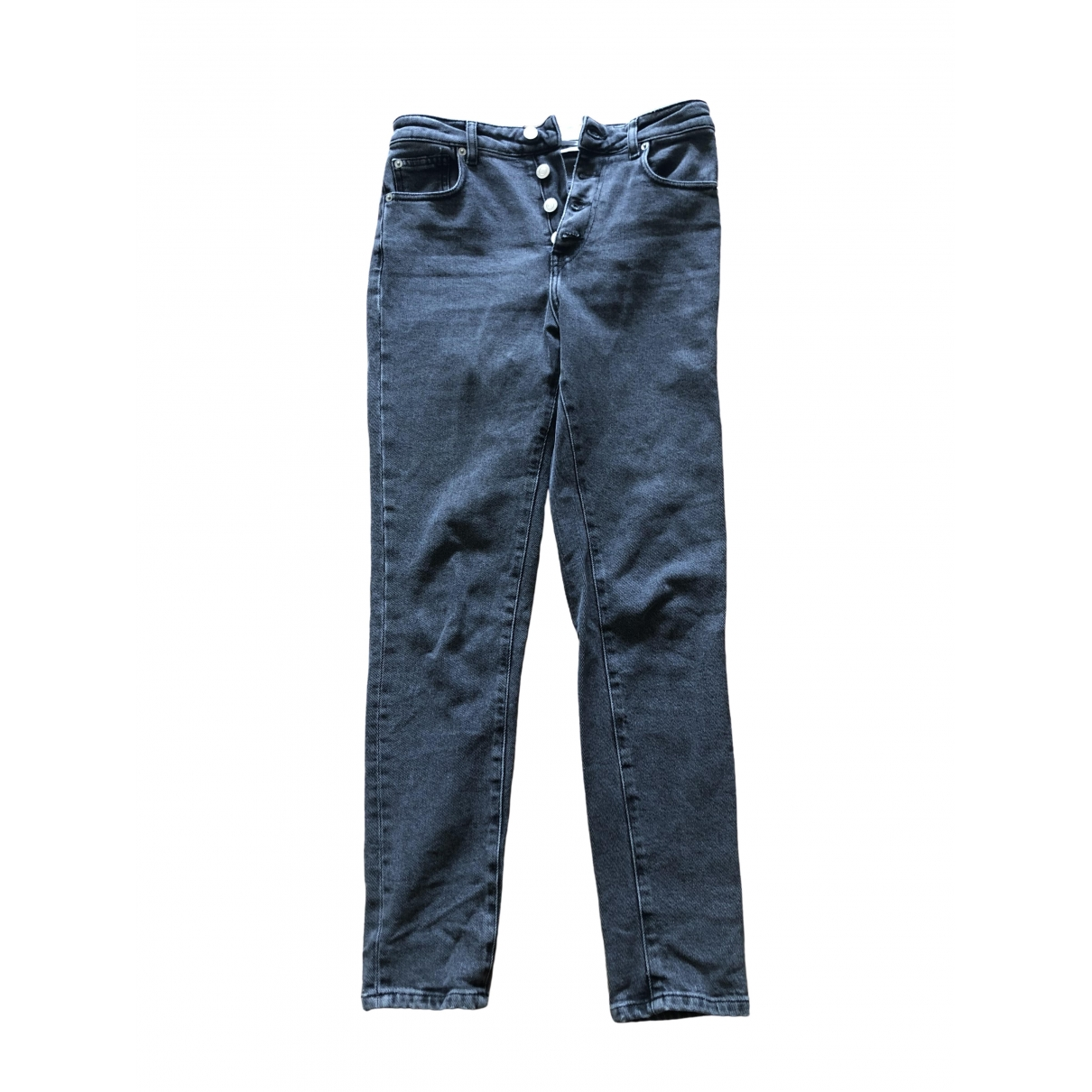 Iro \N Anthracite Denim - Jeans Jeans for Women 26 US
