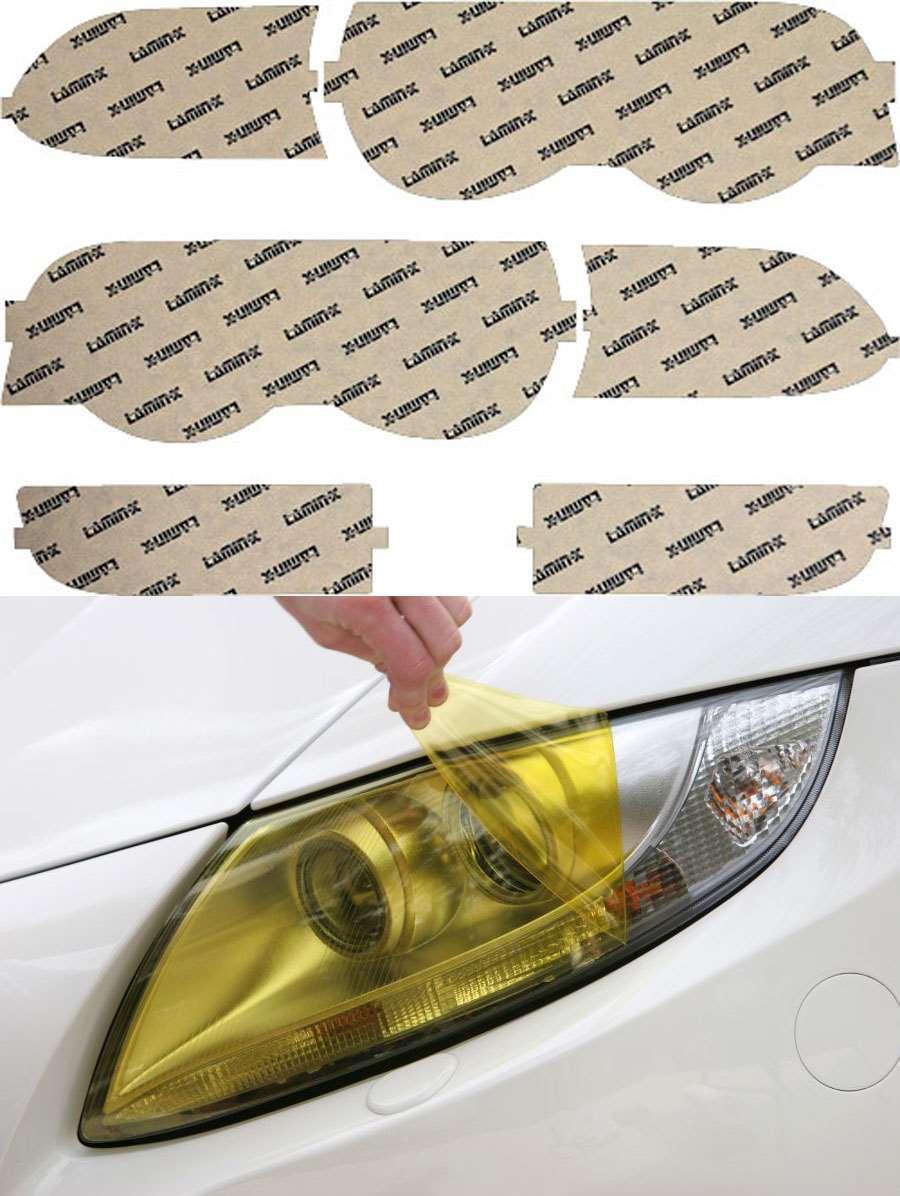 BMW 7-series 99-01 Yellow Headlight Covers Lamin-X B012Y