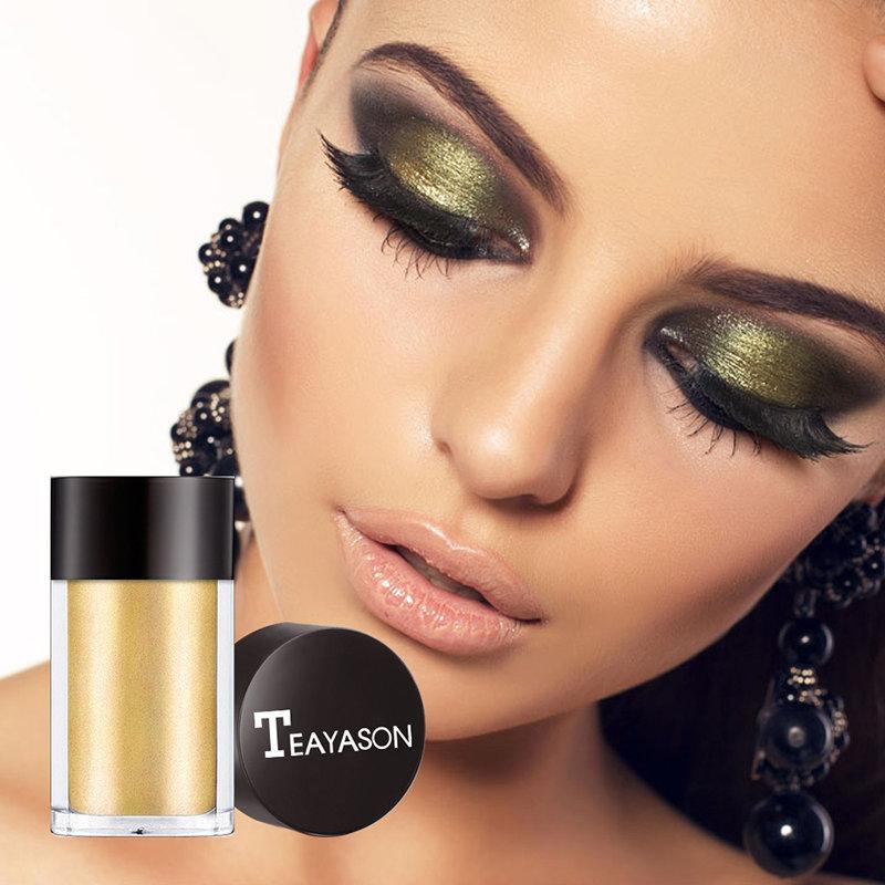 8 Colors Monochrome Eye Shadow Powder Pearlescent Highlight Powder Colorful Eyeshadow