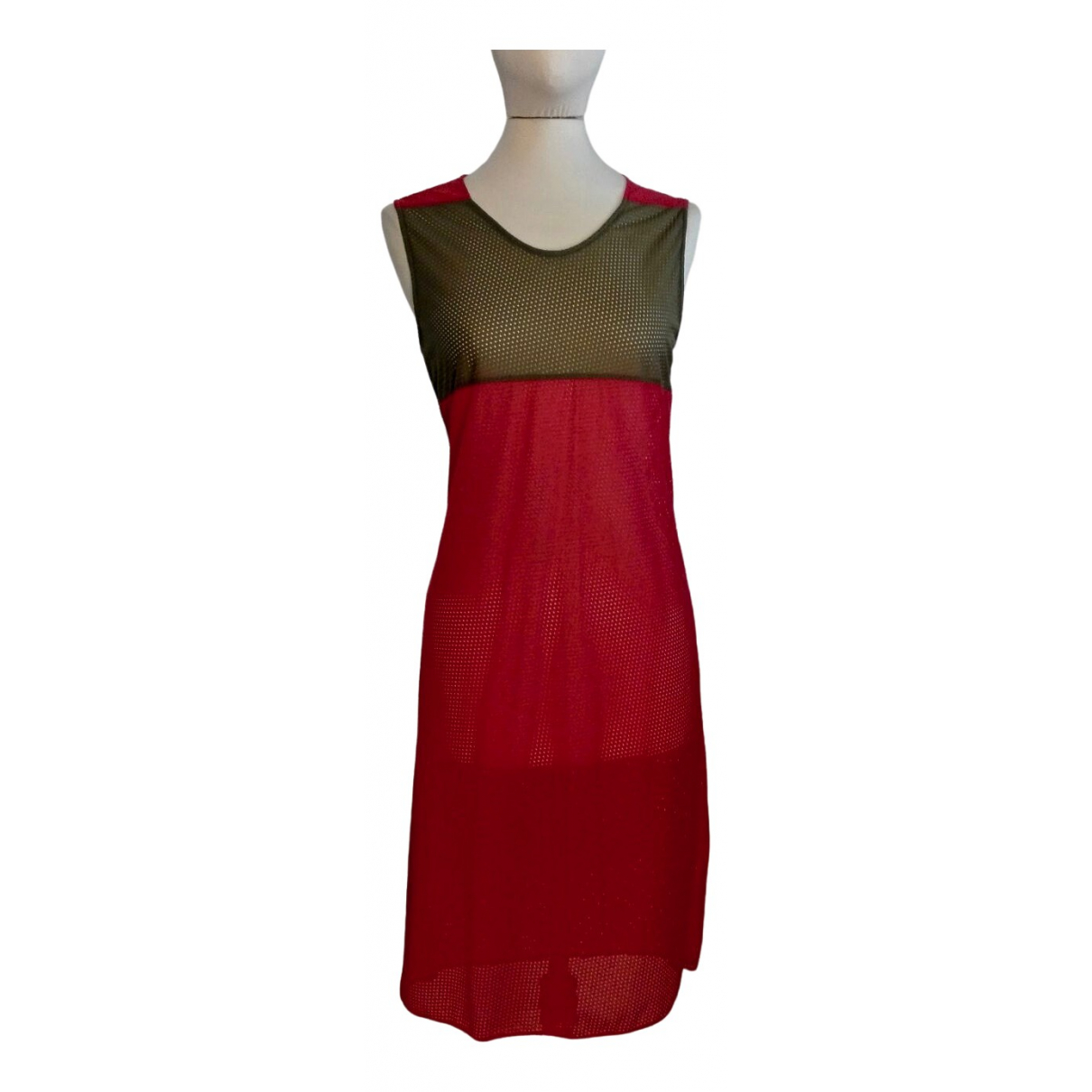 Helmut Lang \N Red dress for Women 42 IT