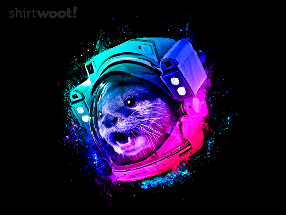 Voyage To Otter Space T Shirt