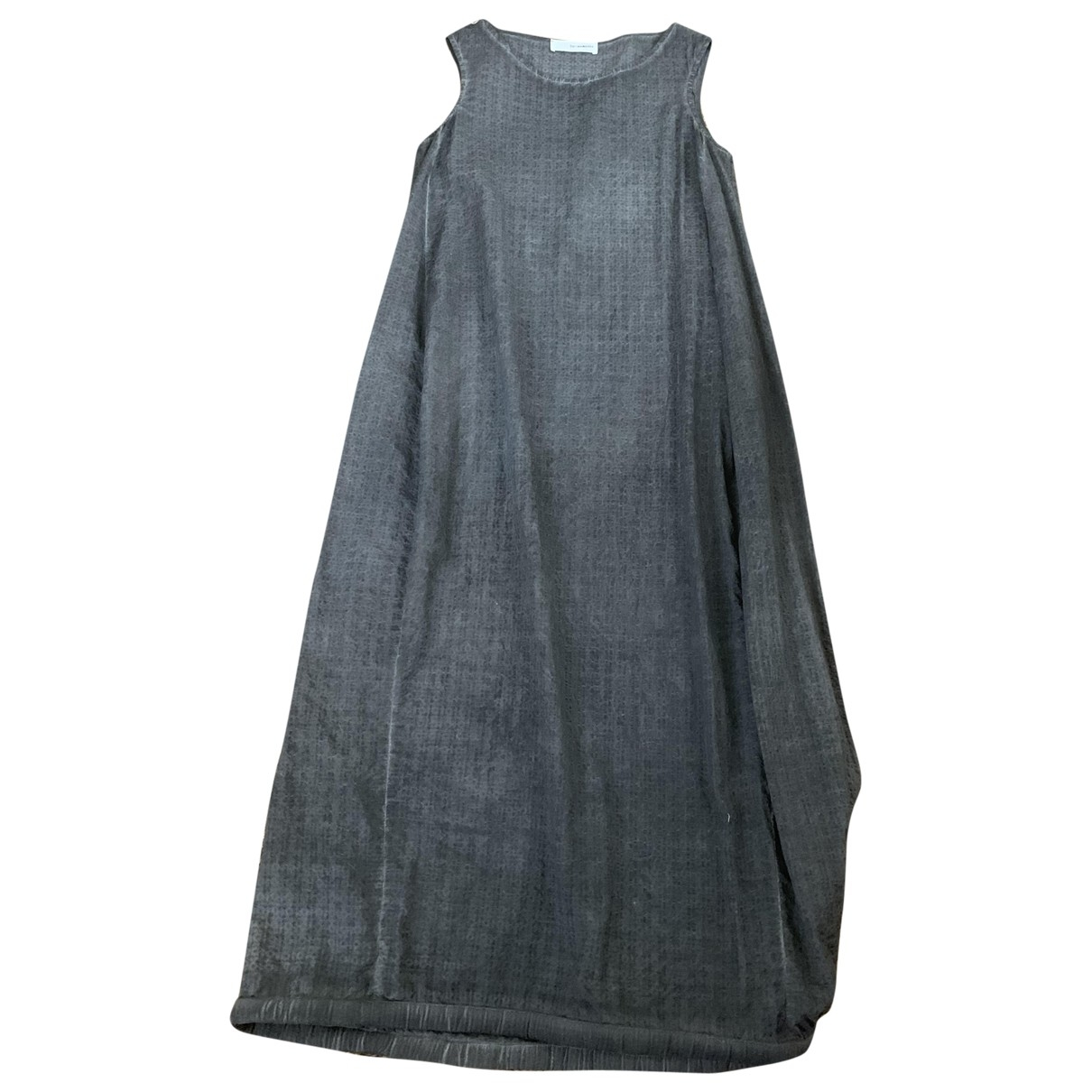 Non Signé / Unsigned \N Anthracite Cotton dress for Women S International