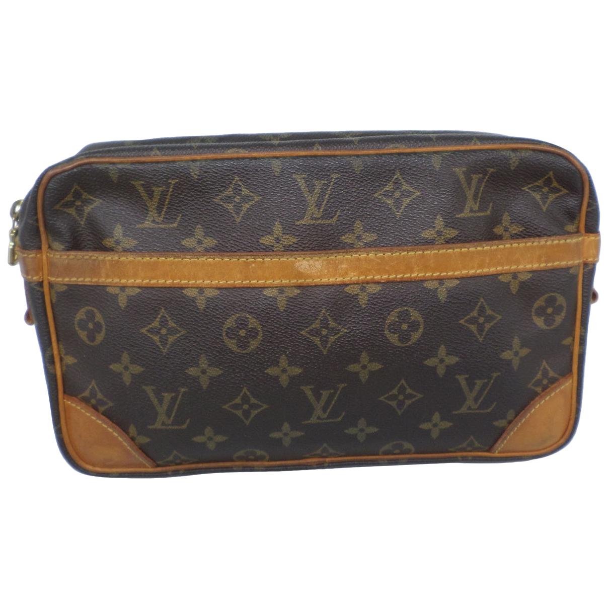 Louis Vuitton Compiegne 28 Brown Cloth Travel bag for Women \N