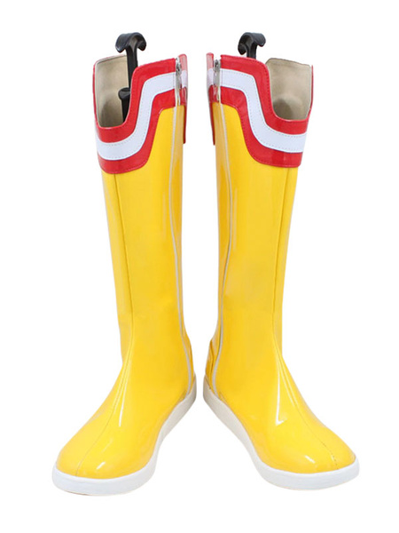 Milanoo My Hero Academia All Might Halloween Cosplay Shoes