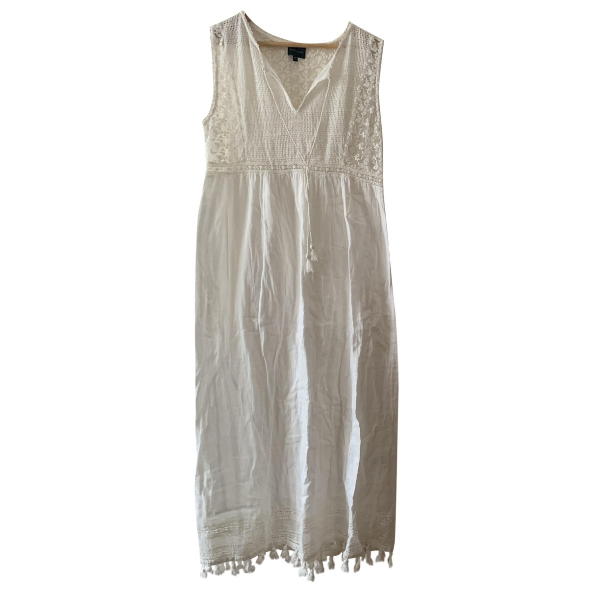 Berenice \N White Cotton dress for Women 40 FR