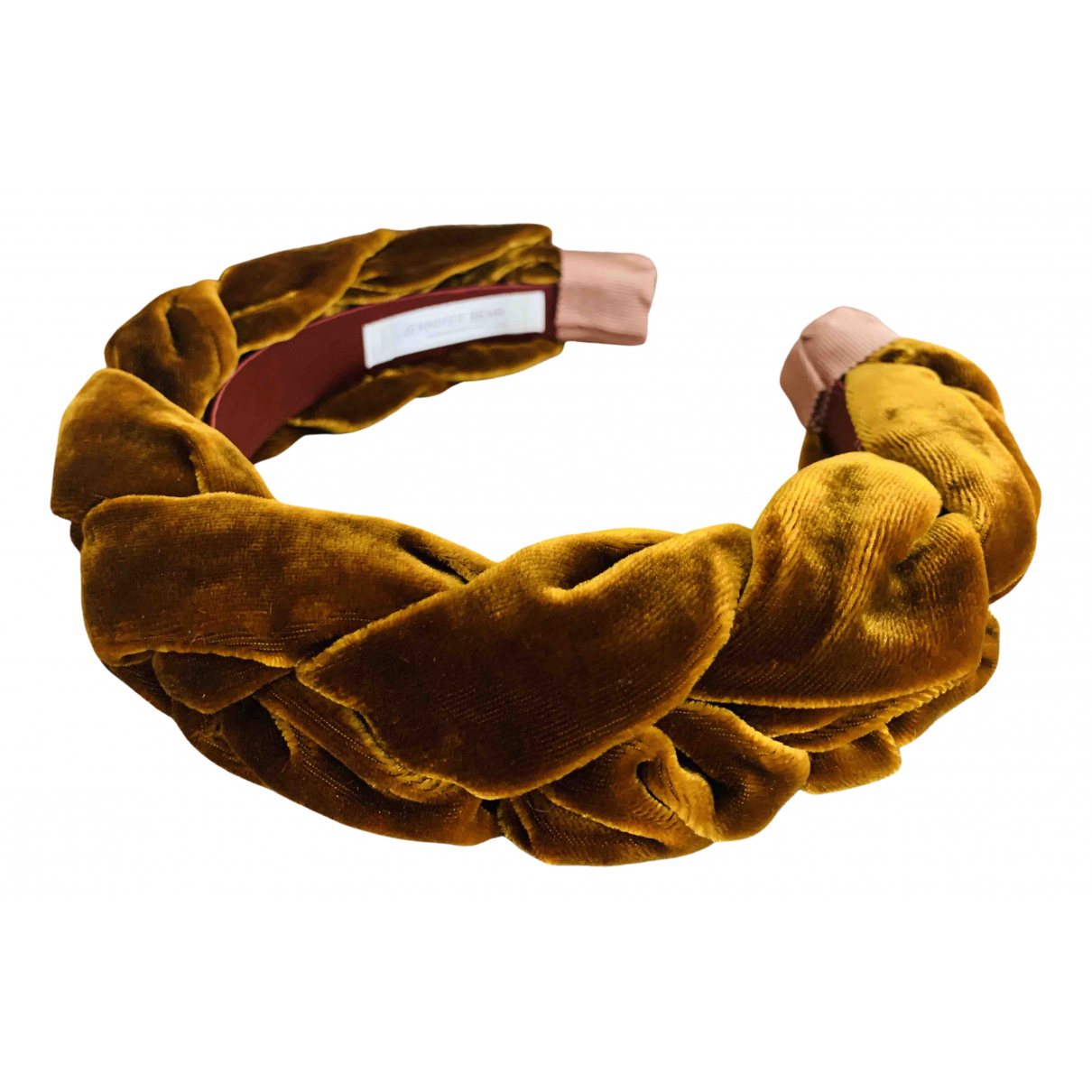 Jennifer Behr \N Brown Silk Hair accessories for Women \N