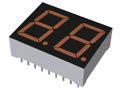 ROHM LB-602EA2  2 Digit LED LED Display, CA Orange 90 mcd RH DP 14.3mm (2)