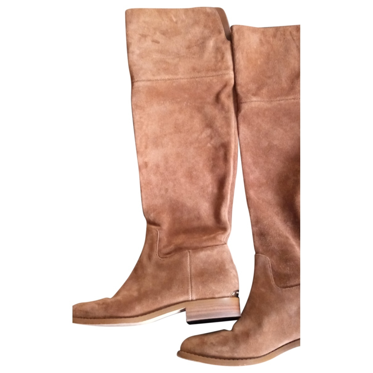 Michael Kors \N Brown Suede Boots for Women 37 EU