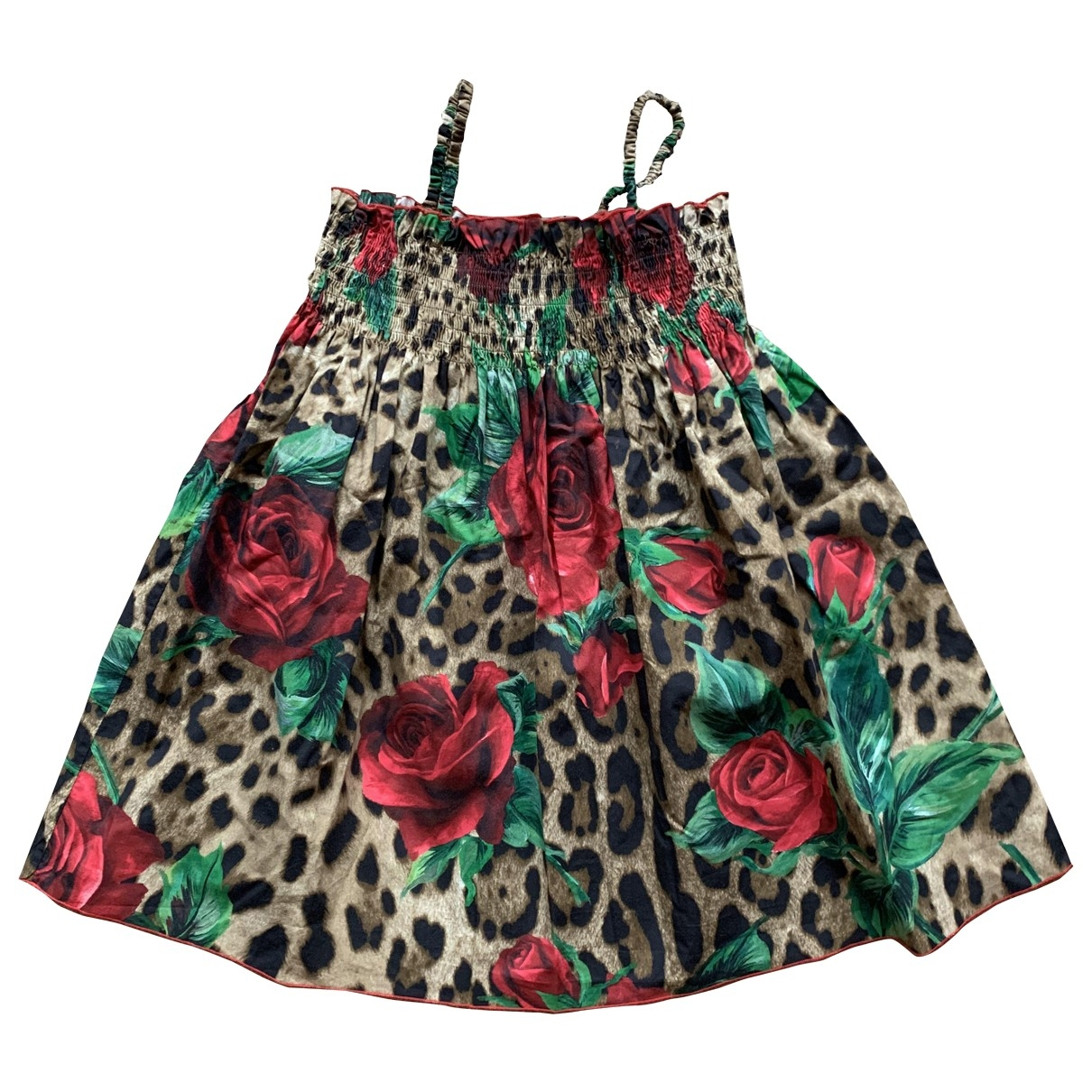 Dolce & Gabbana \N Multicolour Cotton dress for Kids 3 years - until 39 inches UK