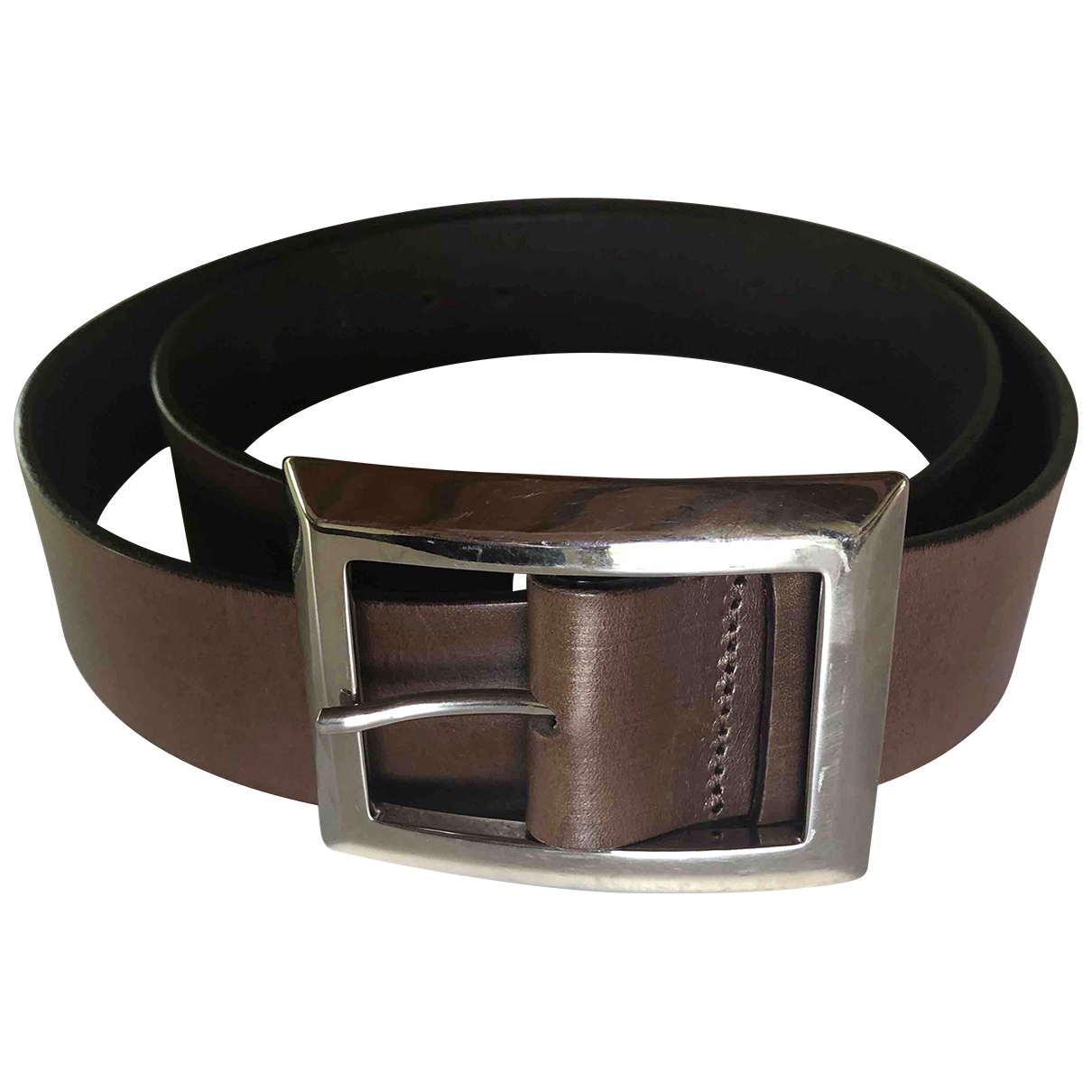 Orciani \N Brown Leather belt for Women 95 cm