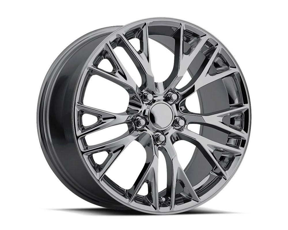 Factory Reproduction Series 22 Wheels 19x8.5 5x4.75 +56 HB 70.3 2015 C7 Z06 Chrome w/Cap