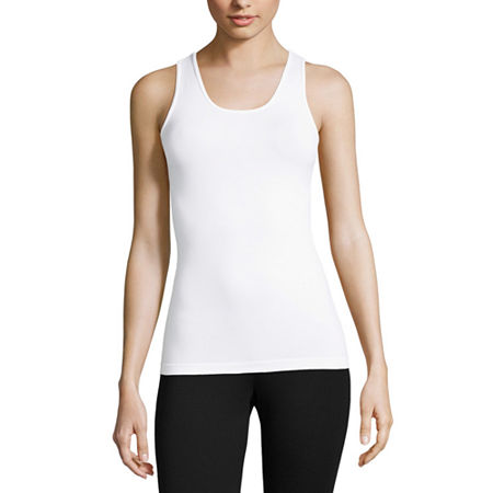 Worthington Reversible Seamless Tank, X-small-small , White