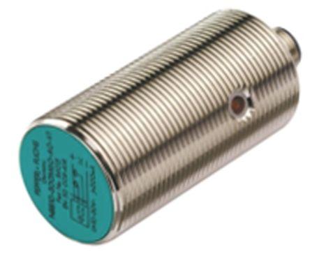 Pepperl + Fuchs M30 x 1.5 Inductive Sensor - Barrel, PNP-NO/NC Output, 10 mm Detection, IP67, M12 - 4 Pin Terminal