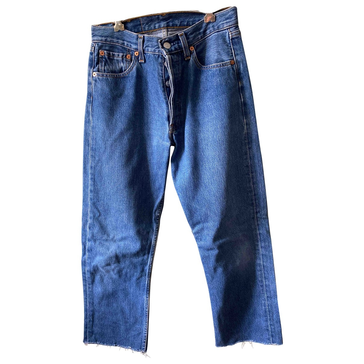 Levi's Vintage Clothing \N Blue Denim - Jeans Jeans for Women 29 US