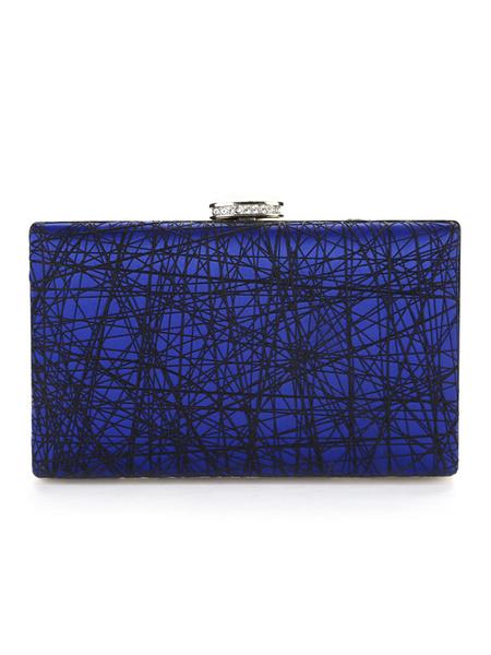Milanoo Evening Clutch Bags Rhinestones Party Handbags