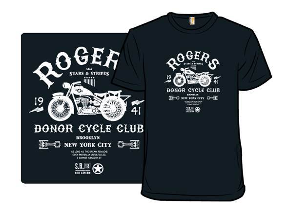 Donor Cycle Club T Shirt