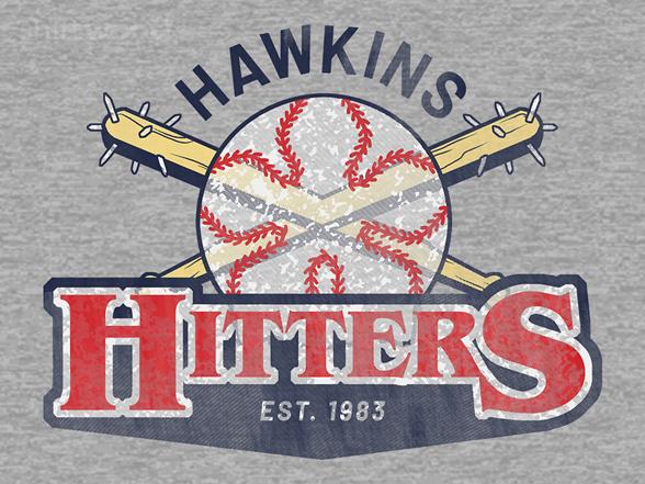 Hawkins Hitters T Shirt