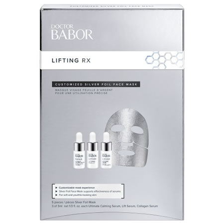 BABOR DOCTOR BABOR LIFTING RX CUSTOMIZED SILVER FOIL MASK (5 pcs)
