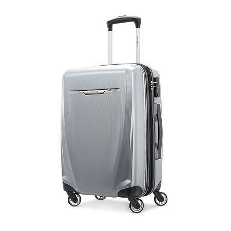 Samsonite Winfield 3 20 Inch Hardside Lightweight Luggage, One Size , Gray