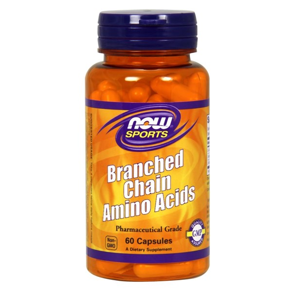 Branch Chain Amino 60 Caps by Now Foods