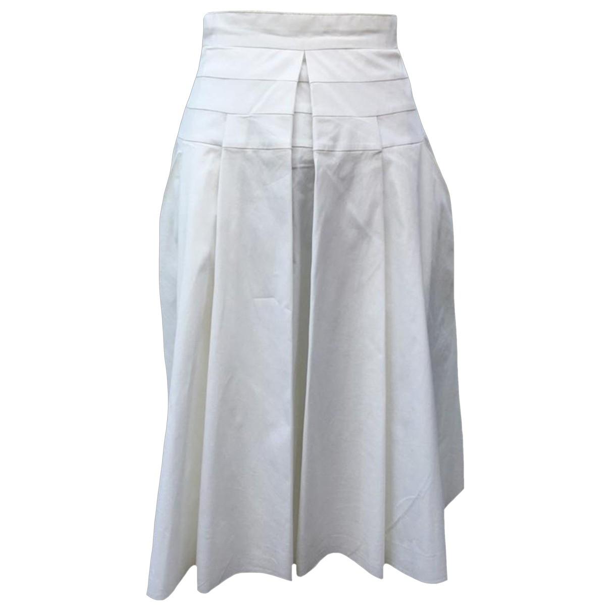 Prada \N White Cotton skirt for Women S International
