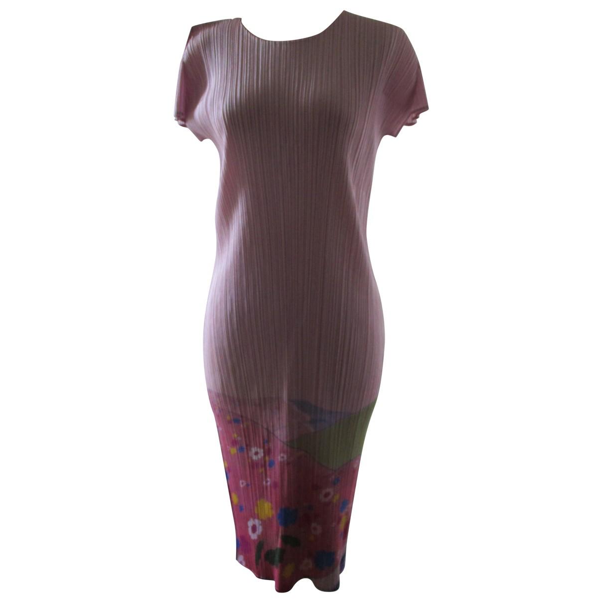 Pleats Please \N Pink dress for Women 3 0-5