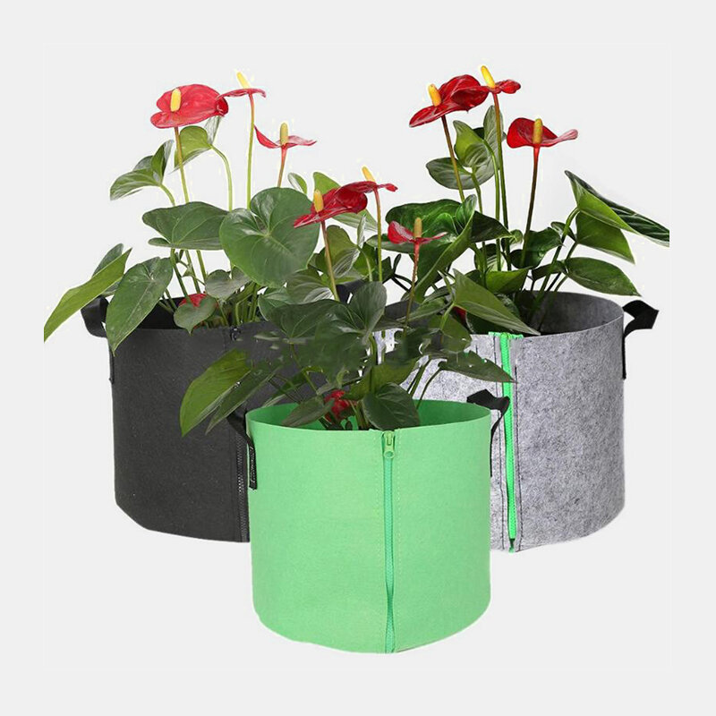 Plants Growing Bag Vegetable Flower Pot Planter DIY Potato Garden Pot Planting Eco-Friendly Grow Bag