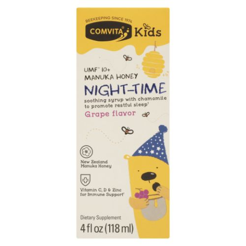 Manuka Honey Night Time Grape Flavor Kids 4 Oz by Comvita