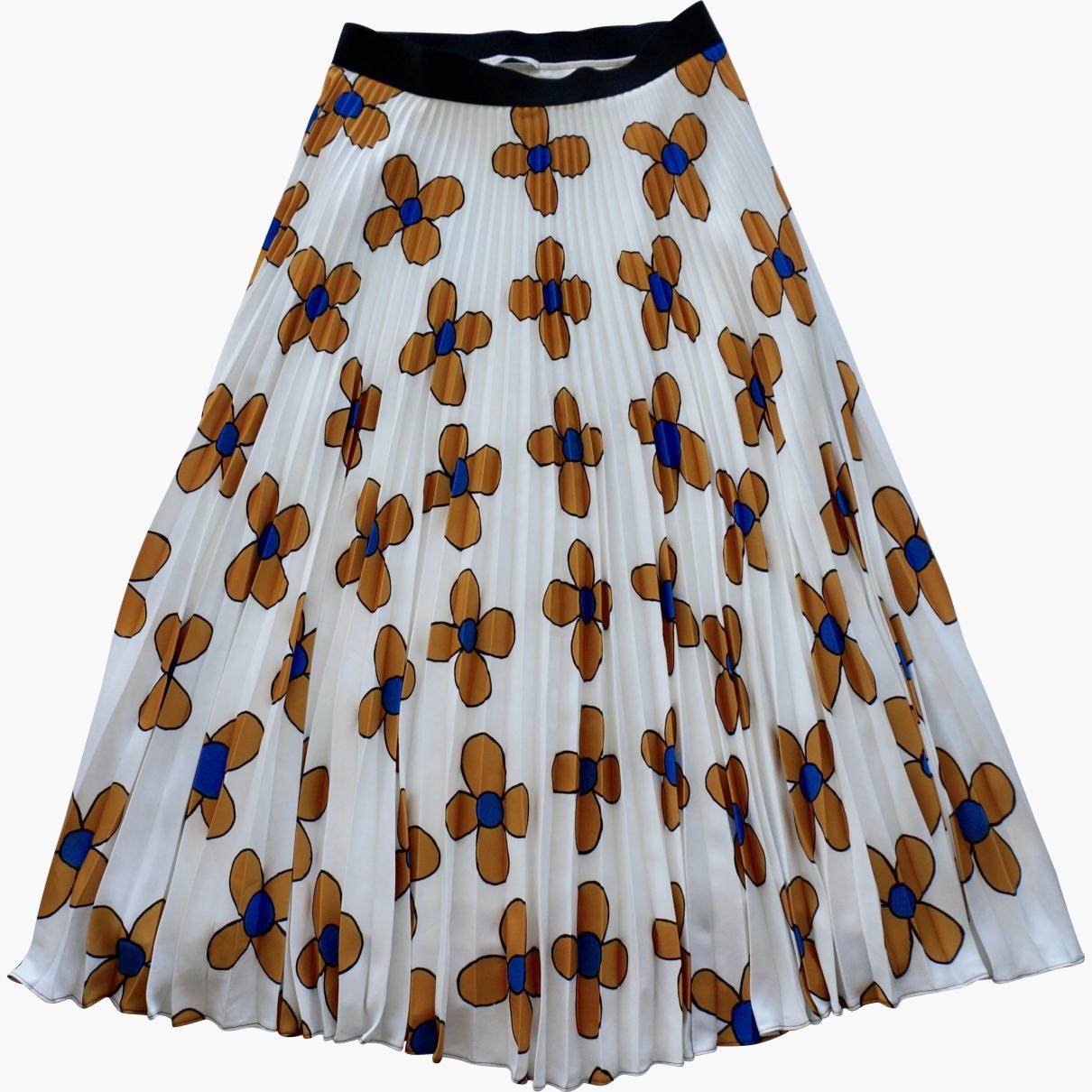 Christopher Kane \N White skirt for Women 42 IT