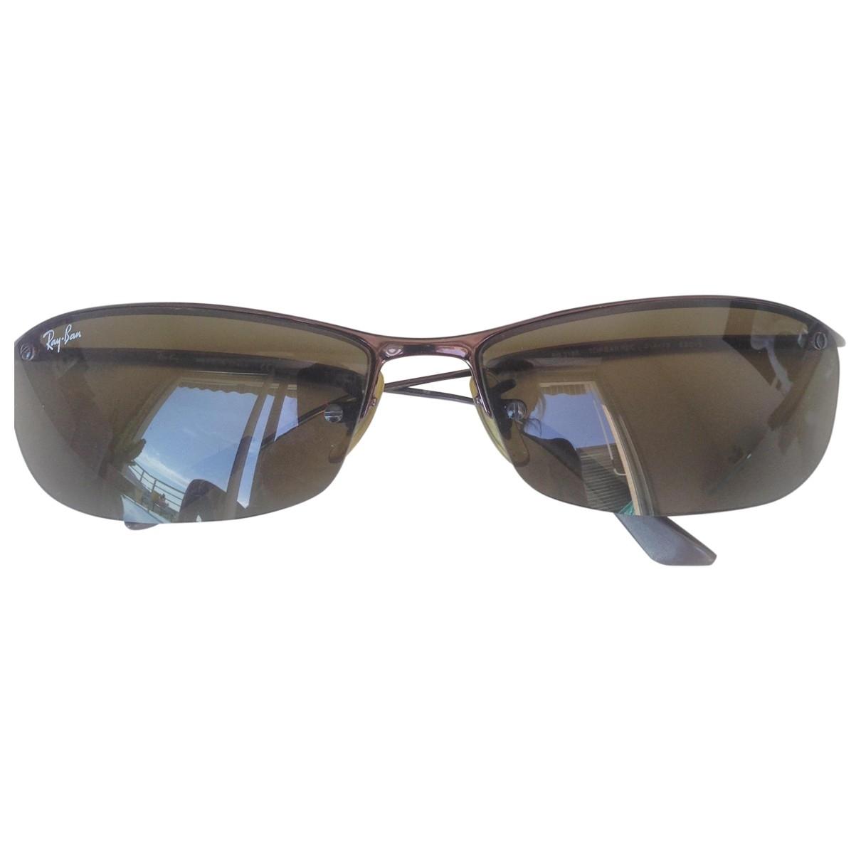 Ray-ban \N Brown Metal Sunglasses for Women \N