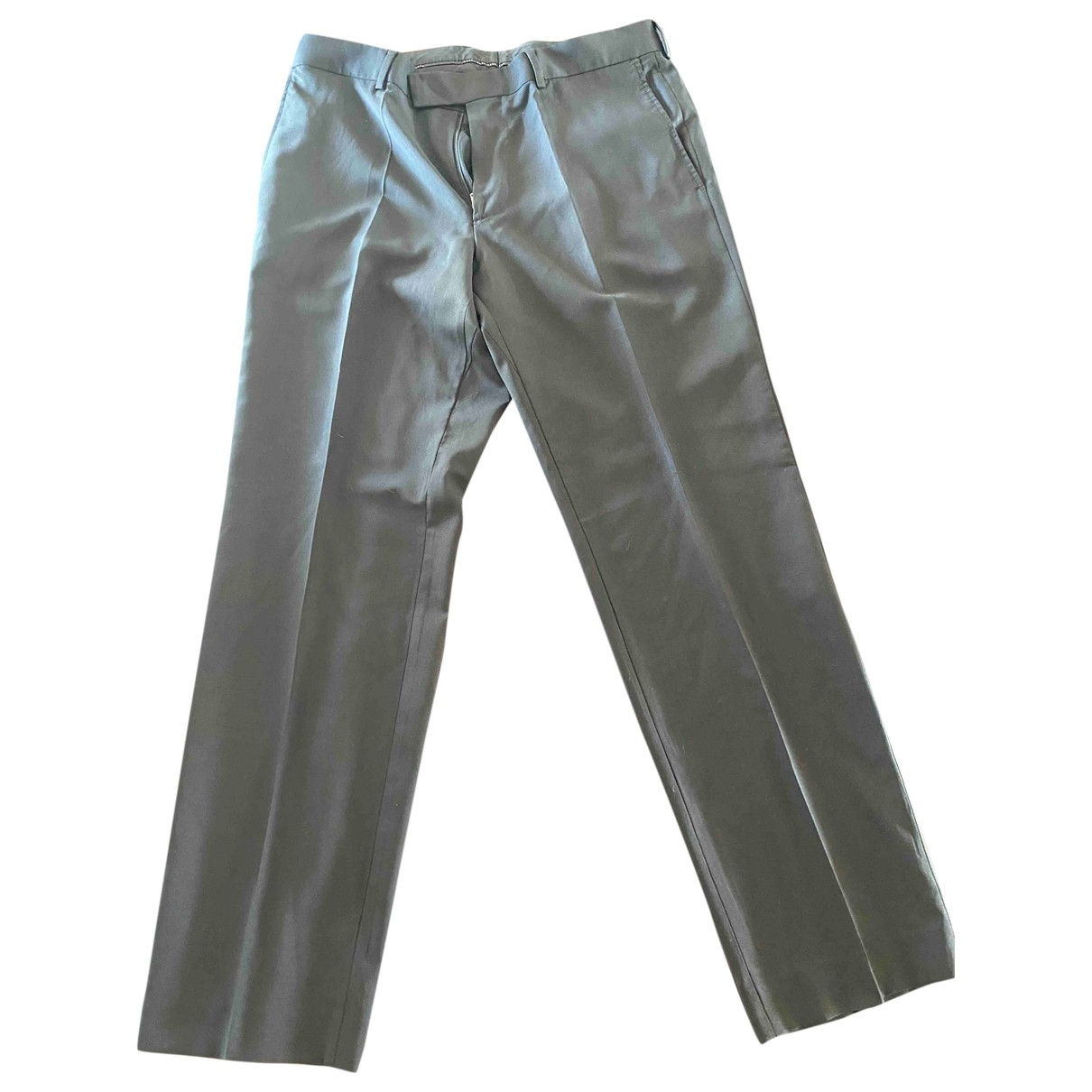 Hugo Boss \N Anthracite Trousers for Men 42 FR
