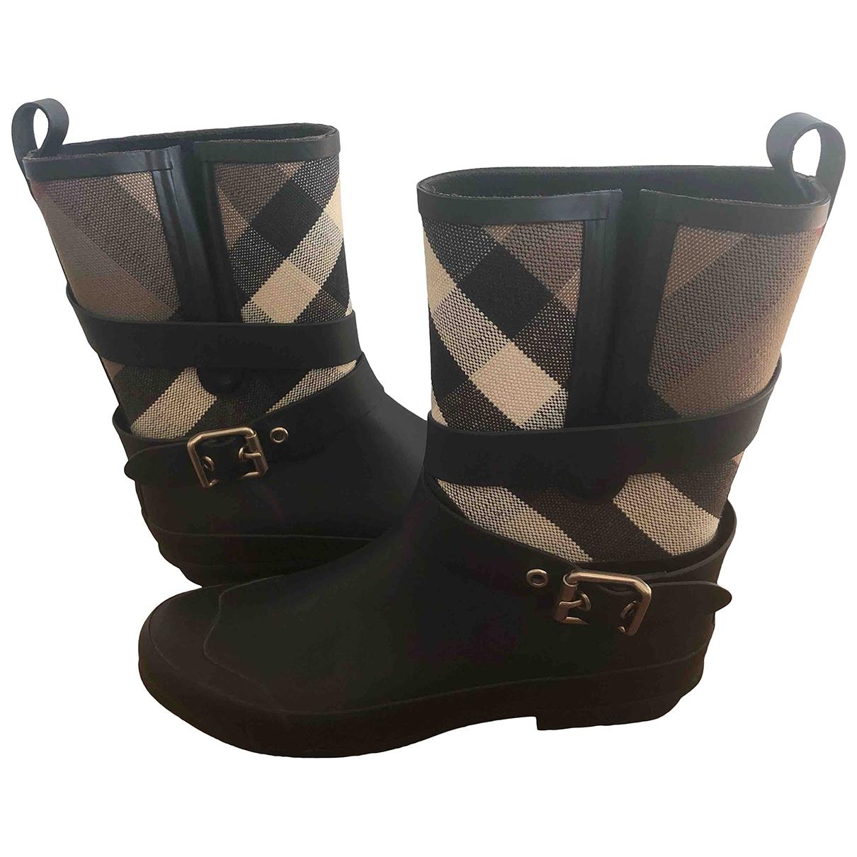 Burberry \N Rubber Boots for Women 38 EU