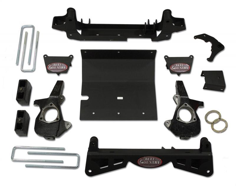 Tuff Country 14992 Complete Kit (w/o Shocks)-4in. Chevrolet