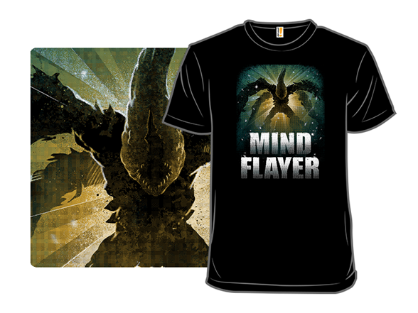 The Mind Flayer T Shirt