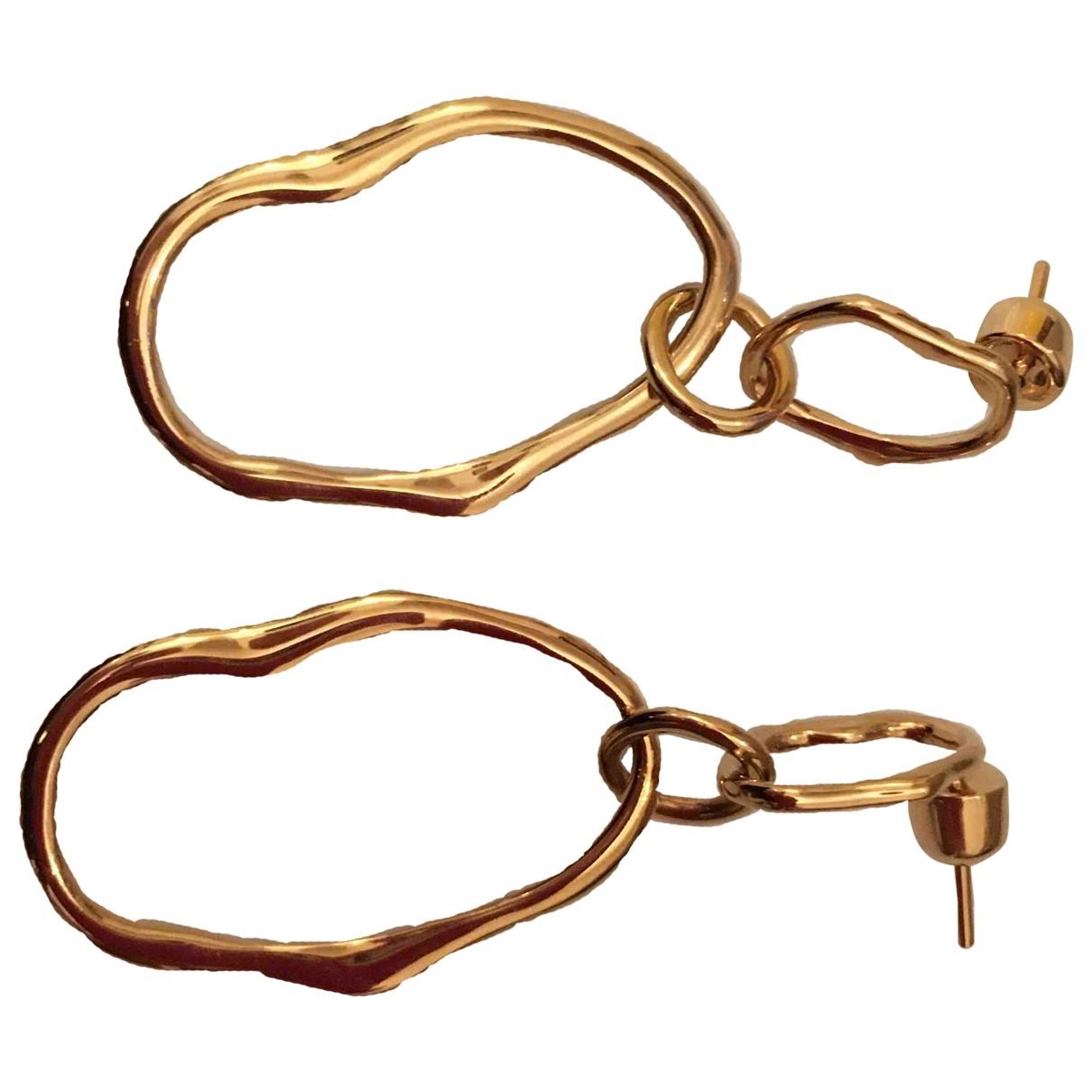 Maria Black \N Gold Silver Earrings for Women \N