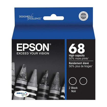 Epson T068120 Original Black Ink Cartridge Twin Pack