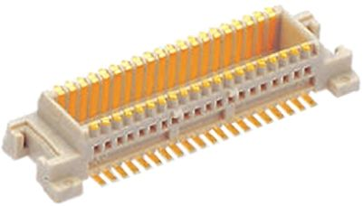Molex , SlimStack, 54722 0.5mm Pitch 22 Way 2 Row Straight PCB Socket, Surface Mount, Solder Termination (5)