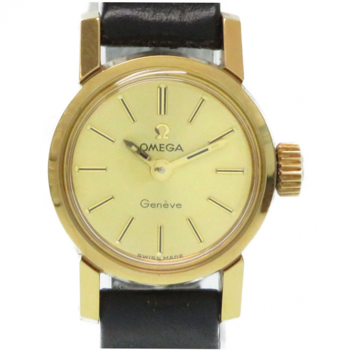 Omega \N Gold Gold plated watch for Women \N