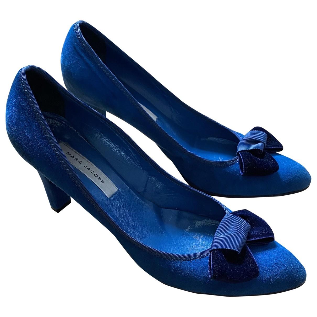 Marc Jacobs \N Blue Suede Heels for Women 40.5 EU