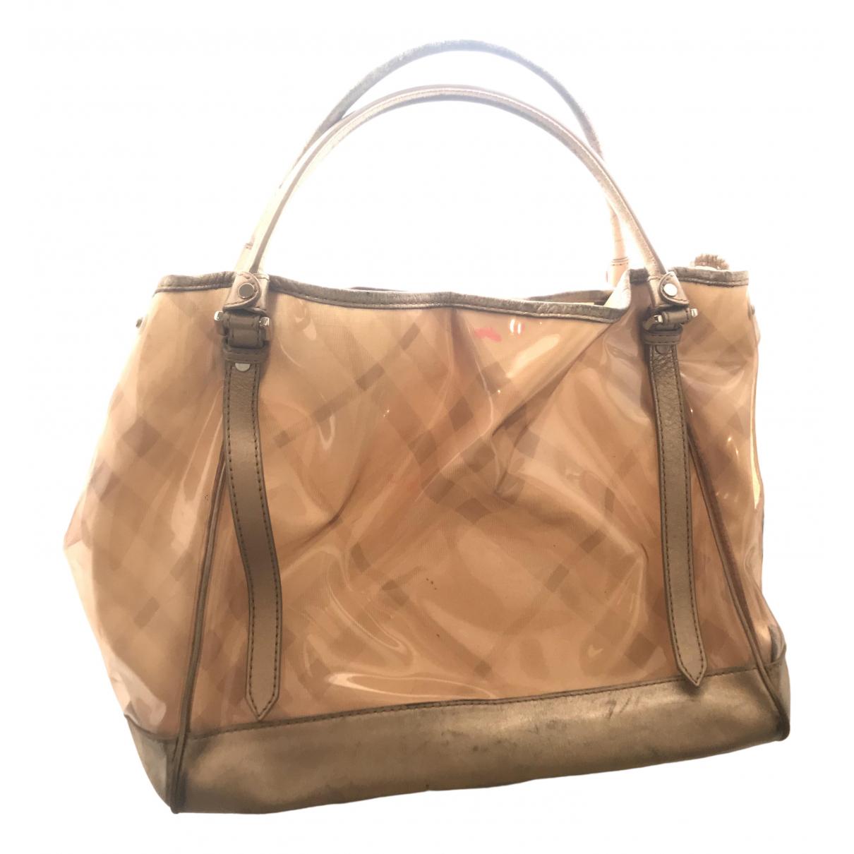 Burberry \N Gold handbag for Women \N