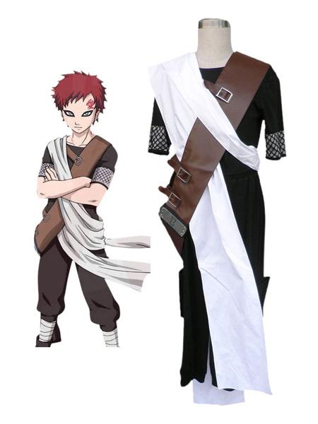 Milanoo Naruto Sabakuno Gaara Cosplay Costume Halloween