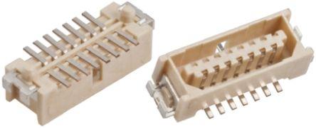 HARWIN , M40, 15 Way, 2 Row, Straight PCB Header